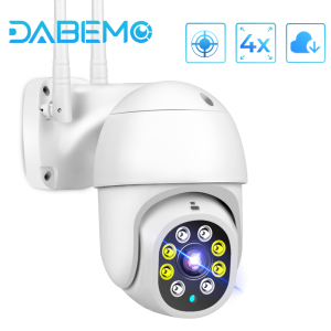 Yoosee WiFi Camera 1080P HD CCTV Outdoor IP Camera AI Tracking 4X Digital Zoom Surveillance RJ45 Wired Mini Speed Dome Cameras
