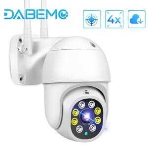 Yoosee WiFi Camera 1080P HD CCTV Outdoor IP Camera AI Tracking 4X Digital Zoom Surveillance RJ45 Wired Mini Speed Dome Cameras