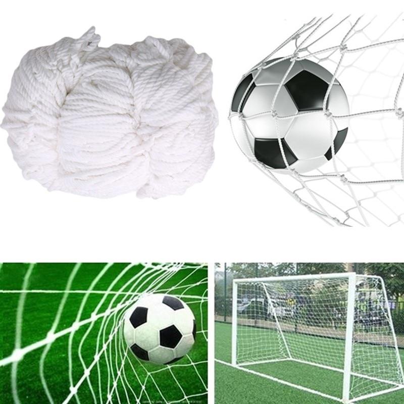 Outdoor Football Training Net Soccer Goal Net Polypropylene Training Post Mesh For Football Gate Match Junior Sports Practice