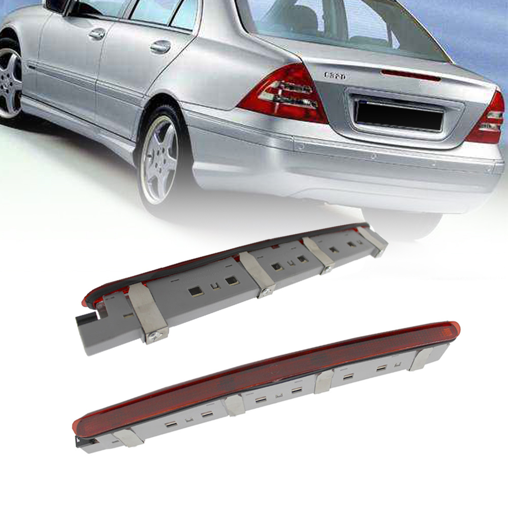 Car LED Tail Brake Stop Light Warining Lamp Rear Bumper Light For Benz W203 C180 C200 C230 C280 C240 <font><b>C300</b></font> 2001-2006 203 820 0156 image