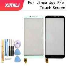 Getestet Gut 5,5 Handy Touch Screen Panel Für Jinga Freude Pro Touchscreen Digitizer Sensor TouchScreen Front Glas Telefon werkzeuge