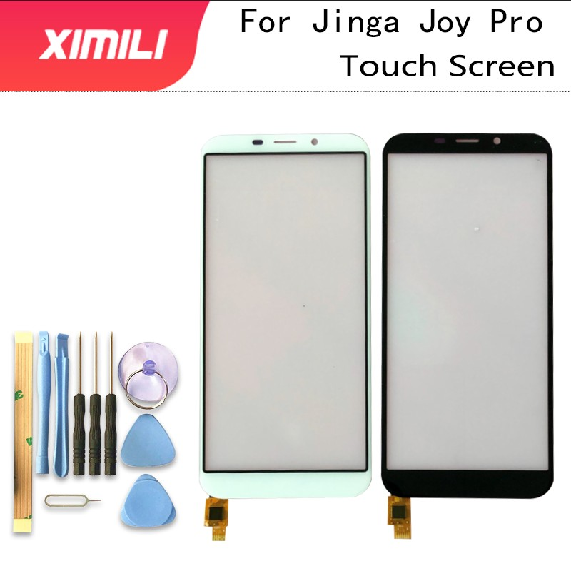 Tested Well 5.5'' Mobile Touch Screen Panel For Jinga Joy Pro Touch Screen Digitizer Sensor TouchScreen Front Glass Phone Tools