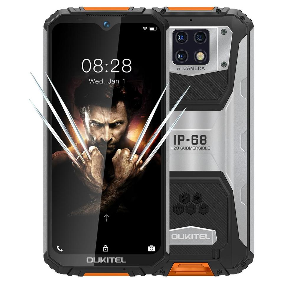 OUKITEL WP6 Ip68 sağlam su geçirmez Smartphone MT6771T Octa ...