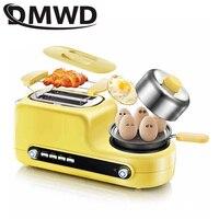 Edelstahl elektrische Toaster haushalt tragbare frühstück maschine automatische brot backen maker gebraten eier kessel pfanne Elektrische Schneidemaschinen Haushaltsgeräte -