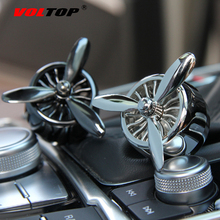 Propeller Car Ornaments Accessories Air Freshener Decoration Rotate Air Conditioning Outlet  Multi style Fragrances Perfume Clip