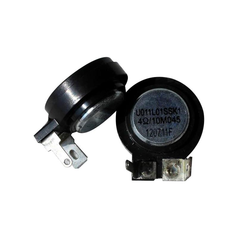 Car Speaker Magnetic Tweeter 2Pcs 1 Inch Mini Audio Portable Tweeter Square 4 Ohm 10W HIFI Speaker Car Tweeter 12V