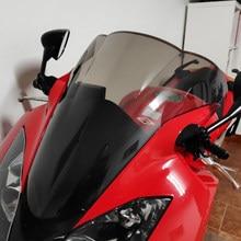 Para-brisa para motocicletas honda vfr800 vfr 800 2002 -2012 2003 2004 2005 2006 2007 2008 2009 2010 tela 2012,