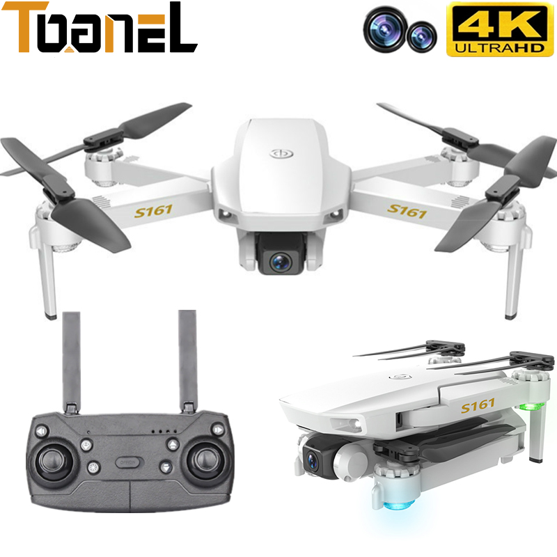 2021 New RC Drone Optical Flow Positioning 4K HD Dual Camera Folding Quadcopter Aerial Photography Remote Control Helicopter Toy