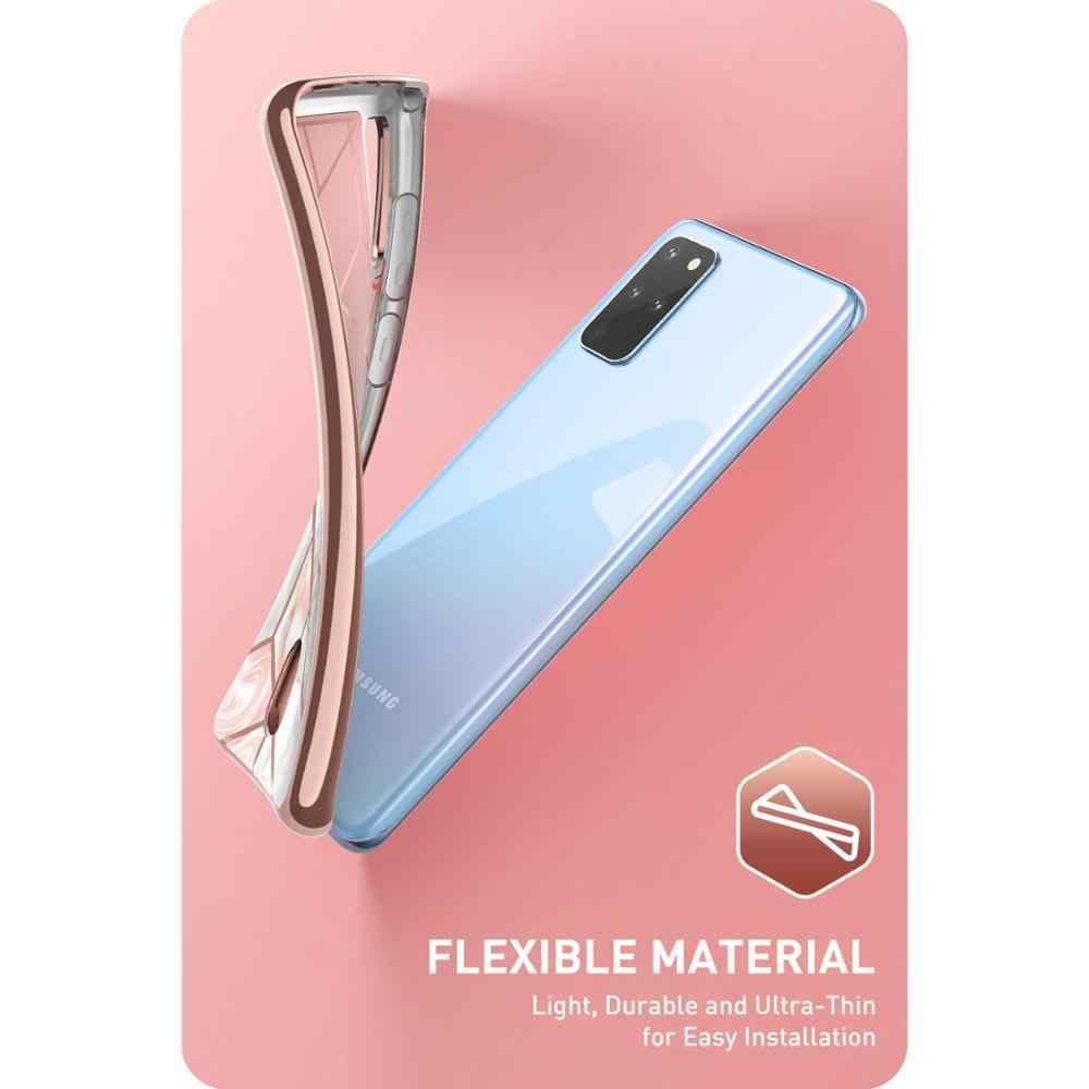 Untuk Samsung Galaxy S20 Plus/S20 PLUS 5G Case (2020 Rilis) aku-Blason Cosmo Dompet Slim Desainer Marmer Kartu Pemegang Cover