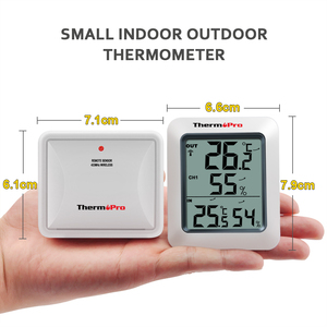 Image 5 - ThermoPro TP60 60M אלחוטי דיגיטלי מזג אוויר תחנת מדדי לחות מדחום עם טמפרטורת מד לחות מד