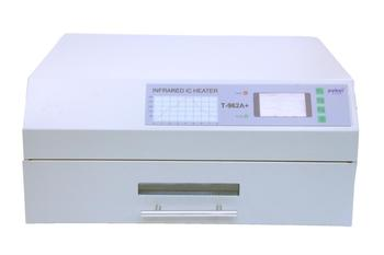 PUHUI T-962A Infrared Solder Led Free Reflow Oven Windowed Drawer IC Heater 300x320mm T962A