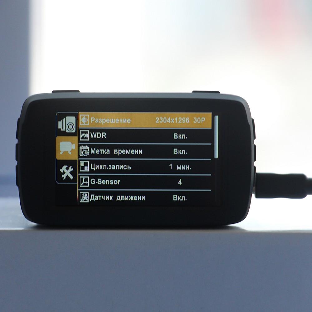 RUCCESS 2.7 Anti détecteur de Radar de voiture pour la russie avec GPS Police Radar caméra 170 degrés voiture DVR Full HD 1080P enregistreur vidéo - 5