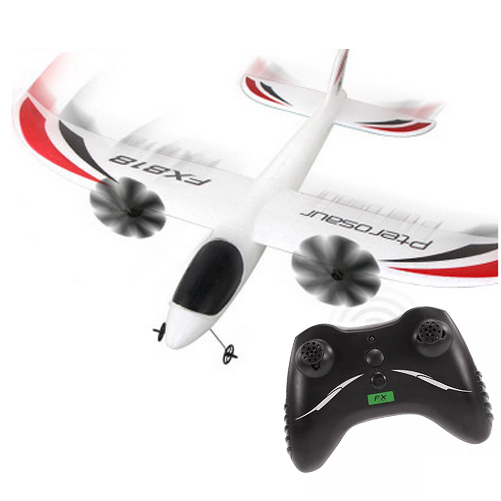 818 2.4G 2CH EPP Indoor Parkflyers Airplane Remote Control RC Plane image