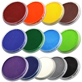 30g OPHIR Body Paint Drawing Makeup Kids Face Paint Pigment Regular Colour Painting for Party Shows RT009 1