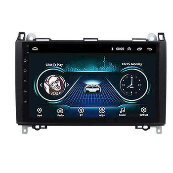 2 din Car Multimedia Player Android 8.1 GPS Autoradio For Mercedes Benz B W245 B150 B160 B170 B180 B200 B55 2004-2012 image