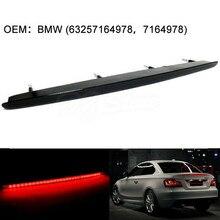 Черный дымчатый светодиодный задний стоп светильник для багажника 2007-2013 BMW 1 серии E82 E88 M Coupe OEM 63257164978 63 25 7 164 978
