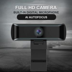 4K 1080P automatyczne ustawianie ostrości 8MP kamera internetowa wbudowany dźwiękochłonny mikrofon USB kamera internetowa komputerowe klasy konferencyjne połączenia wideo