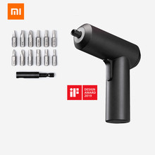 XIAOMI Mijia Cordless Rechargeable Screwdriver 3.6V 2000mAh Li ion 5N.m Electric Screwdriver With 12Pcs S2 Screw Bits For home