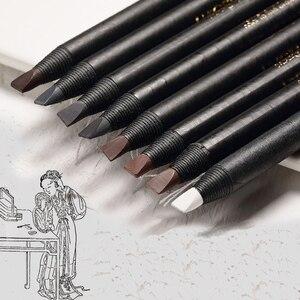 Image 3 - 1PCS Matita Per Gli Occhi matita Cosmetica per ombretto Naturale di Lunga Durata Tatuaggio sopracciglia sopracciglio impermeabile di trucco di bellezza set