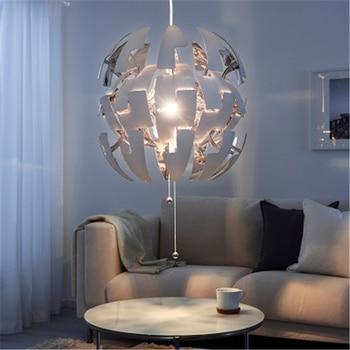 Nordic Modern Minimalist Restaurant Bar Special Design Lamp Bedroom Spherical Creative Decorative Chandelier Free Shipping White free shipping pop design white murano glass lamp