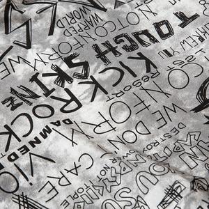 Image 5 - Männer Hip Hop Hoodie Sweatshirt Buchstaben Graffiti Streetwear Harajuku Pullover Hoodies 2019 Herbst Baumwolle Sweat Shirt Hipster Druck