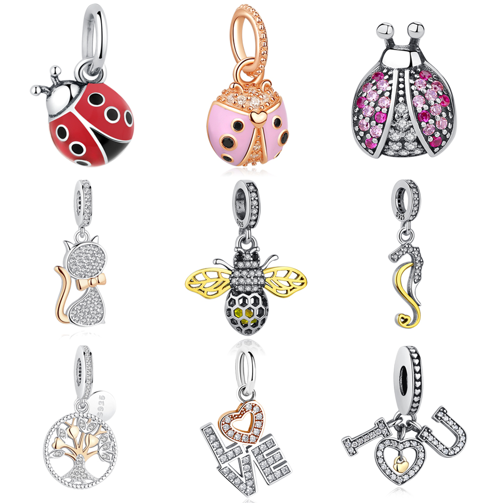 charms pandora animaux