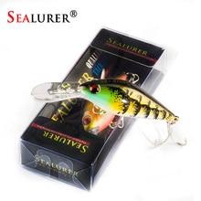 Sealurer, новинка, приманка для рыбной ловли, гольян, 80 мм, 8,6 г, плавающая приманка, искусственная жесткая приманка, приманка для окуня, Воблер для щуки, длинный язык, гольян