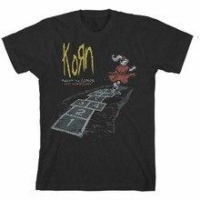 Autêntico korn siga o líder 20th anniversary camiseta s m l xl 2xl 3xl novo