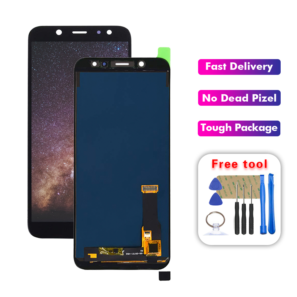 LCD For Samsung Galaxy A6 2018 A600 A600F A600FN LCD Display Touch Screen Assembly Replacement Free Tools