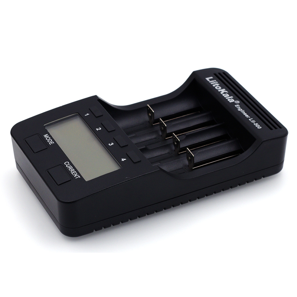 Genuine/Original Liitokala Lii-500 LCD 3.7V 18650 18350 18500 16340 25500 14500 26650  1.2V AA AAA NiMH lithium battery Charger