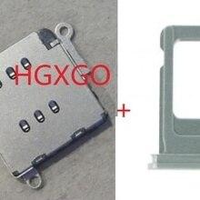 1 комплект для iPhone 11 11 Pro 11Pro Max Dual SIM Card reader гибкий кабель+ слот для держателя sim-карты