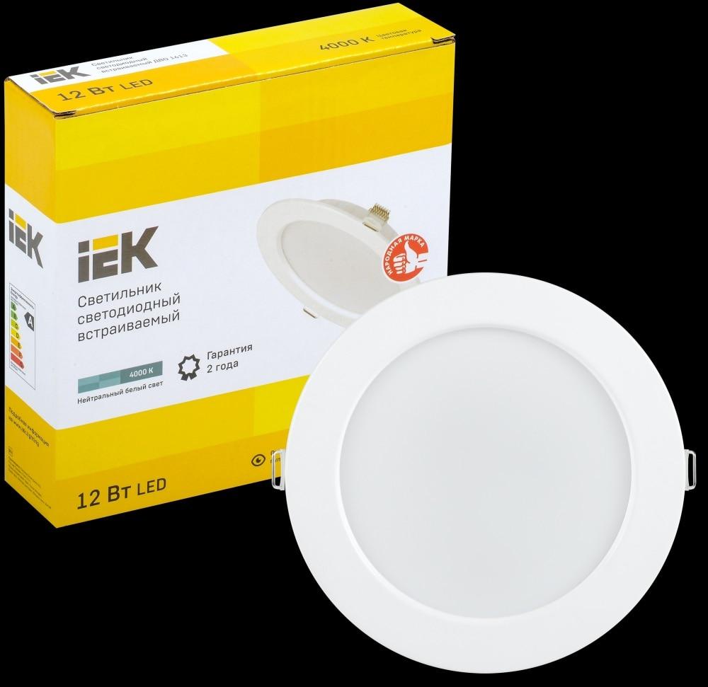 IEK Lamp LED DOUBLE 1613 white circle 12 W 4000 K IP20 LDVO0-1613-12-4000-K01