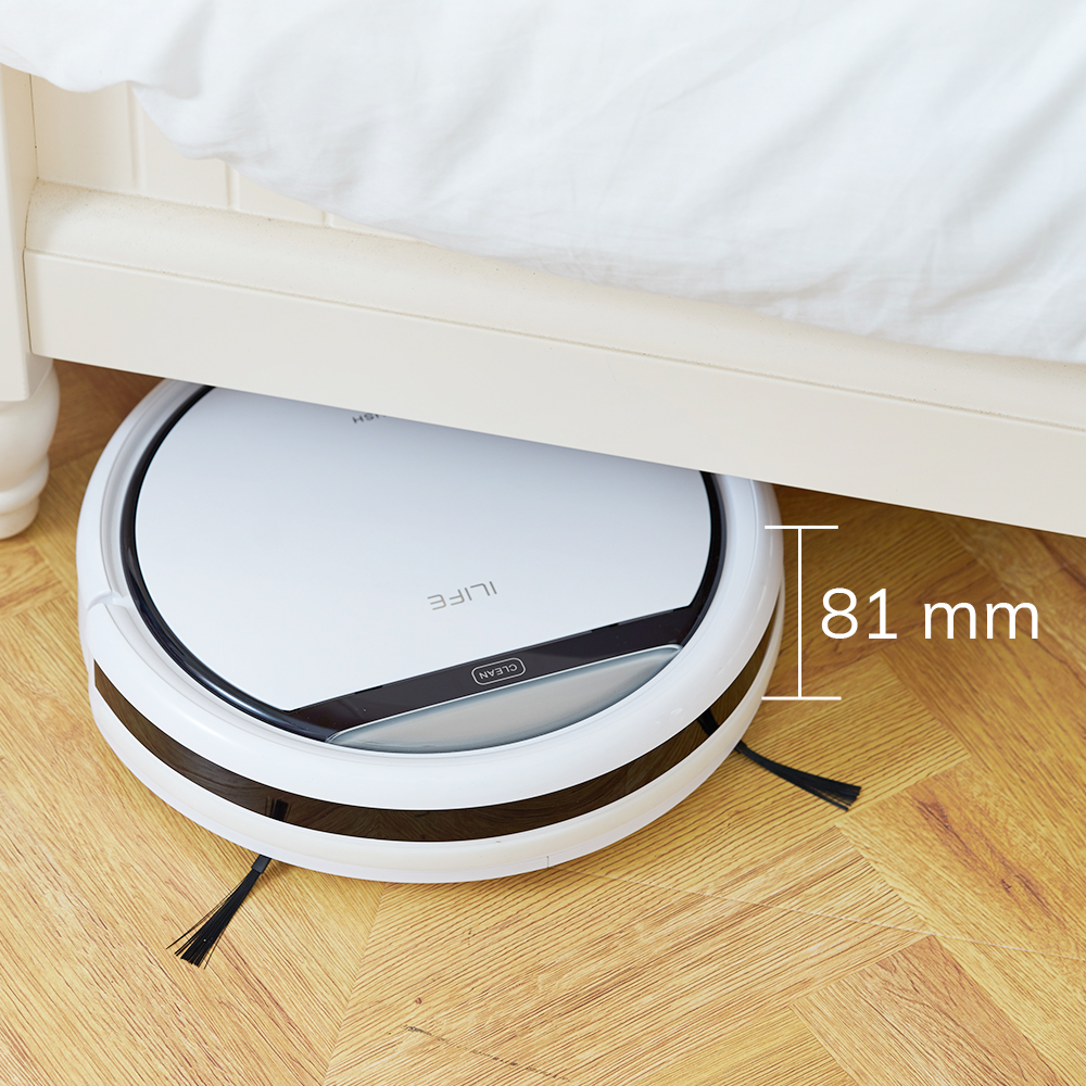 ILIFE V3s Pro Robot Vacuum Cleaner Home Household Professional Sweeping Machine for Pet hair Anti Collision Automatic Recharge 3