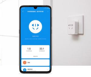 Image 2 - Xiaomi Mi Mijia Smart Socket 2 versione Gateway Bluetooth interruttori Wireless Timer Plug funziona con APP WiFi Mi home Mijia App