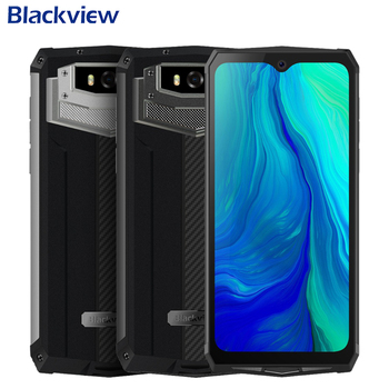 Blackview BV9100 IP68 Waterproof 6.3 inch 4GB RAM 64GB ROM MT6765V Octa Core Android 9.0 NFC 13000mAh 30W Fast Charge Smartphone