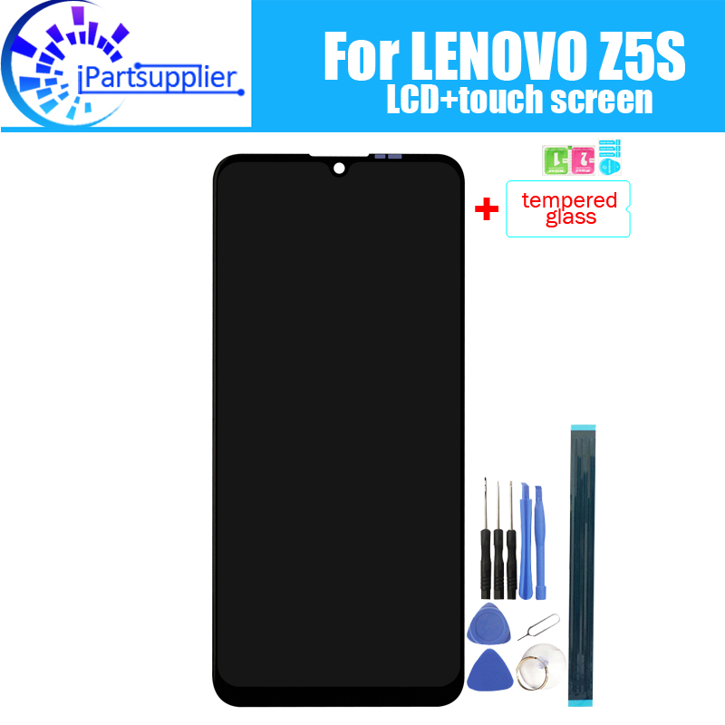 For LENOVO Z5S LCD Display+Touch Screen 100% Original Tested LCD Digitizer Glass Panel Replacement For LENOVO Z5S