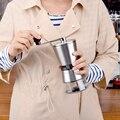 Высококачественная нержавеющая сталь ручная шлифовальная коническая керамическая кофемолка ручная кофемолка мельница с керамическими за...