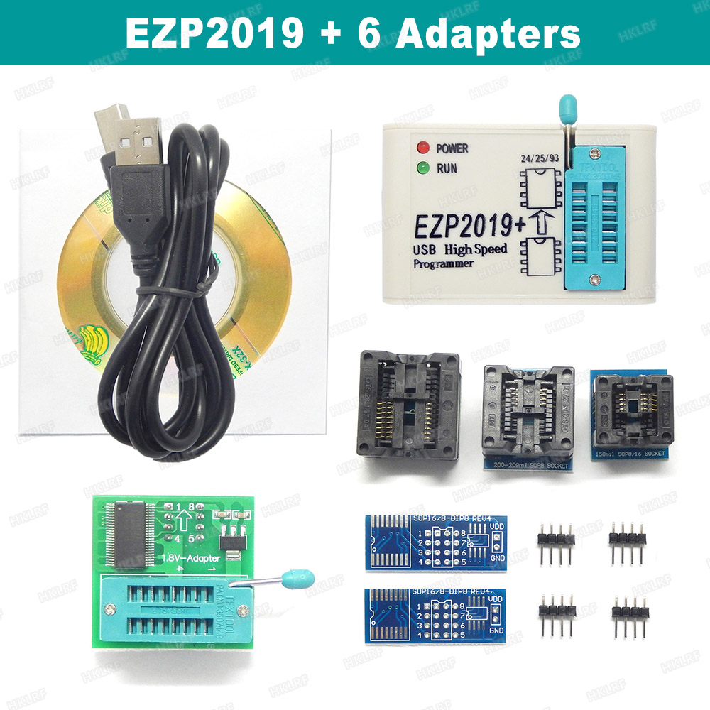 EZP2019 High Speed USB SPI Programmer Support 24 25 26 93 EEPROM Bios 25 T7S0