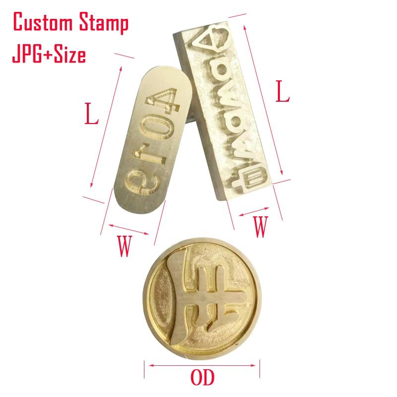 LOGO bélyegzőforma a bőr forró fólia dombornyomásához, sajtolt sablonok Digitális ábécé a bőr bélyegzőhöz