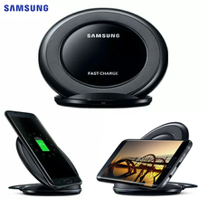 SAMSUNG orijinal hızlı kablosuz şarj şarj Pad için Samsung Galaxy S9 artı S10 + not 9 Note10 artı S7 kenar s8 S9 + EP NG930
