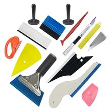 Car Vinyl Wrap Tool Carbon Foil Glass Film Window Tint Squeegee Scraper Kit Sticker Cutter Auto Styling Accessories