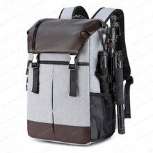 Nouveau arrivé DSLR étanche appareil photo sac à dos grande capacité Anti vol photographie sac pour Canon Nikon Sony w/réflecteur rayure