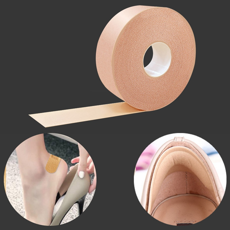 1 Roll 2.5cm*5m Elastic Waterproof Foam Tape Wear-Resistant Bandage Sticker Wound Dressing Sports Sprain Treatment First Aid Kit