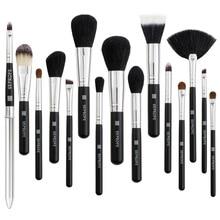 Makeup brush 15 sets of makeup brush, wooden handle, a set eyeliner, high-end tools.