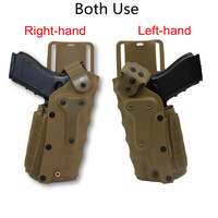 Equipo táctico militar izquierda/derecha cinturón pistolera ajustable cinturón Pistal funda para GLOCK 17 colt 1911 bereta M9