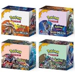 324 pces cartas pokemon caixa de cartões colecionáveis carta de negociação classeur pokemon francaise cartões jogo criança presente