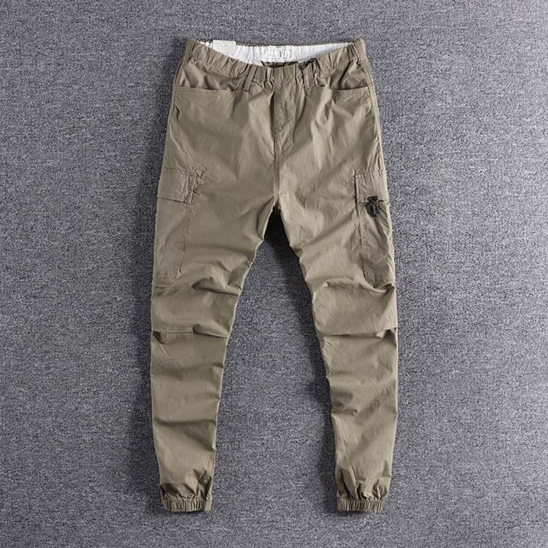 2019 nouvelle mode en plein air mince élastique jeunes Sports bas pantalon hommes loisirs pantalon simple designer de haute qualité promotion XL - 2