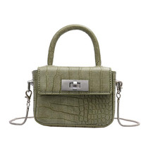 Crossbody bags for women 2020 PU leather high quality designer crocodile pattern tote messenger shoulder bag purses and handbags charming women s tote bag with crocodile print and pu leather design