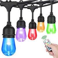 Venta https://ae01.alicdn.com/kf/H820116a159aa4e95a91bbdc6225ad635g/15M luces LED de cadena de grado comercial S14 LED Retro Edison filamento bombilla calle Garland.jpg