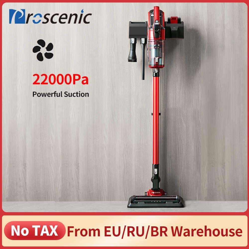 Proscenic I9 22000Pa 충전식 핸드 헬드 진공 청소기 홈 사이클론 필터 휴대용 수직 무선 진공 청소기